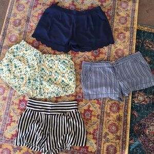 Four (4) Pairs of Light Summer Shorts